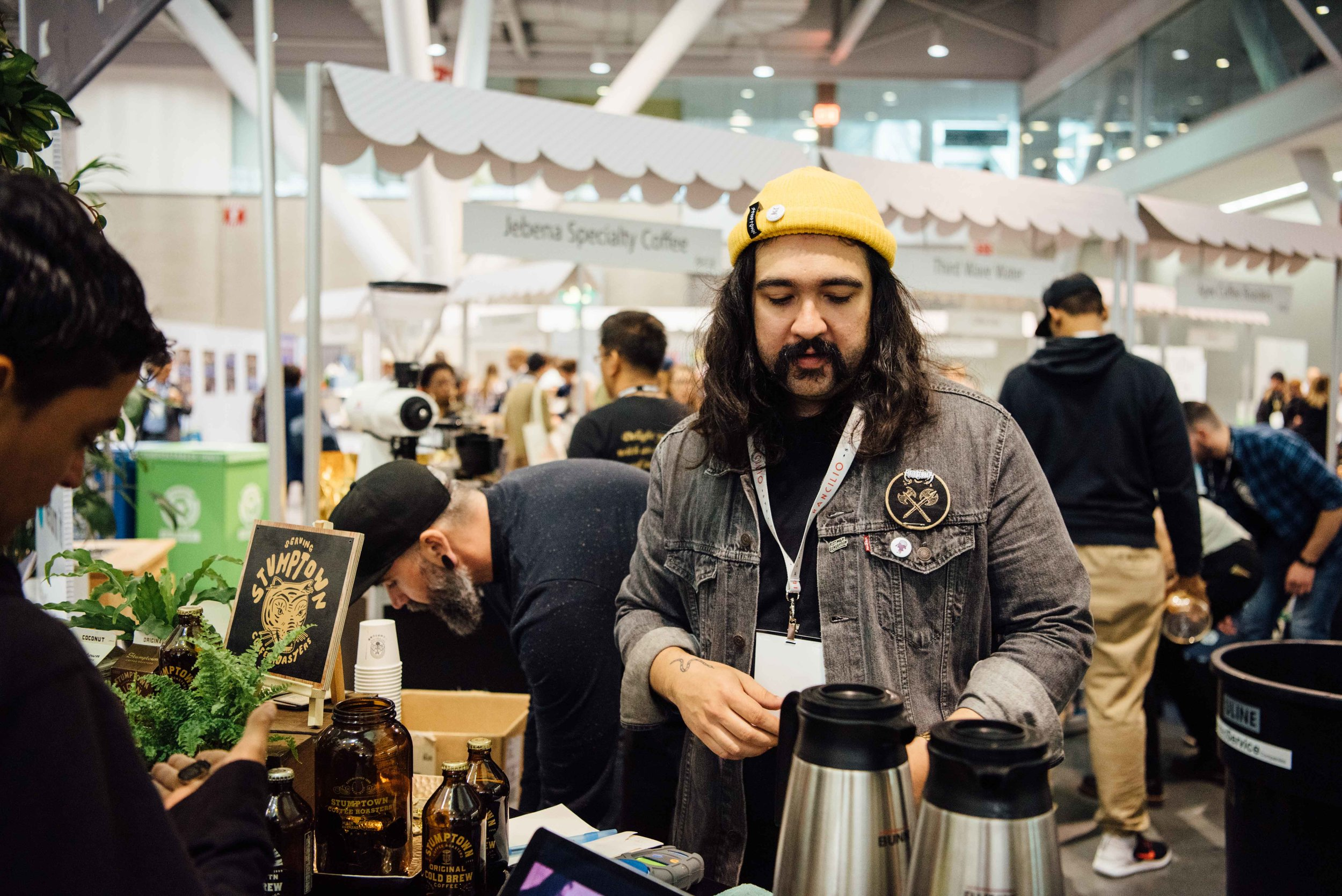 Roaster Village - Explore and taste coffees produced and roasted by some of the best roasters in the industry.