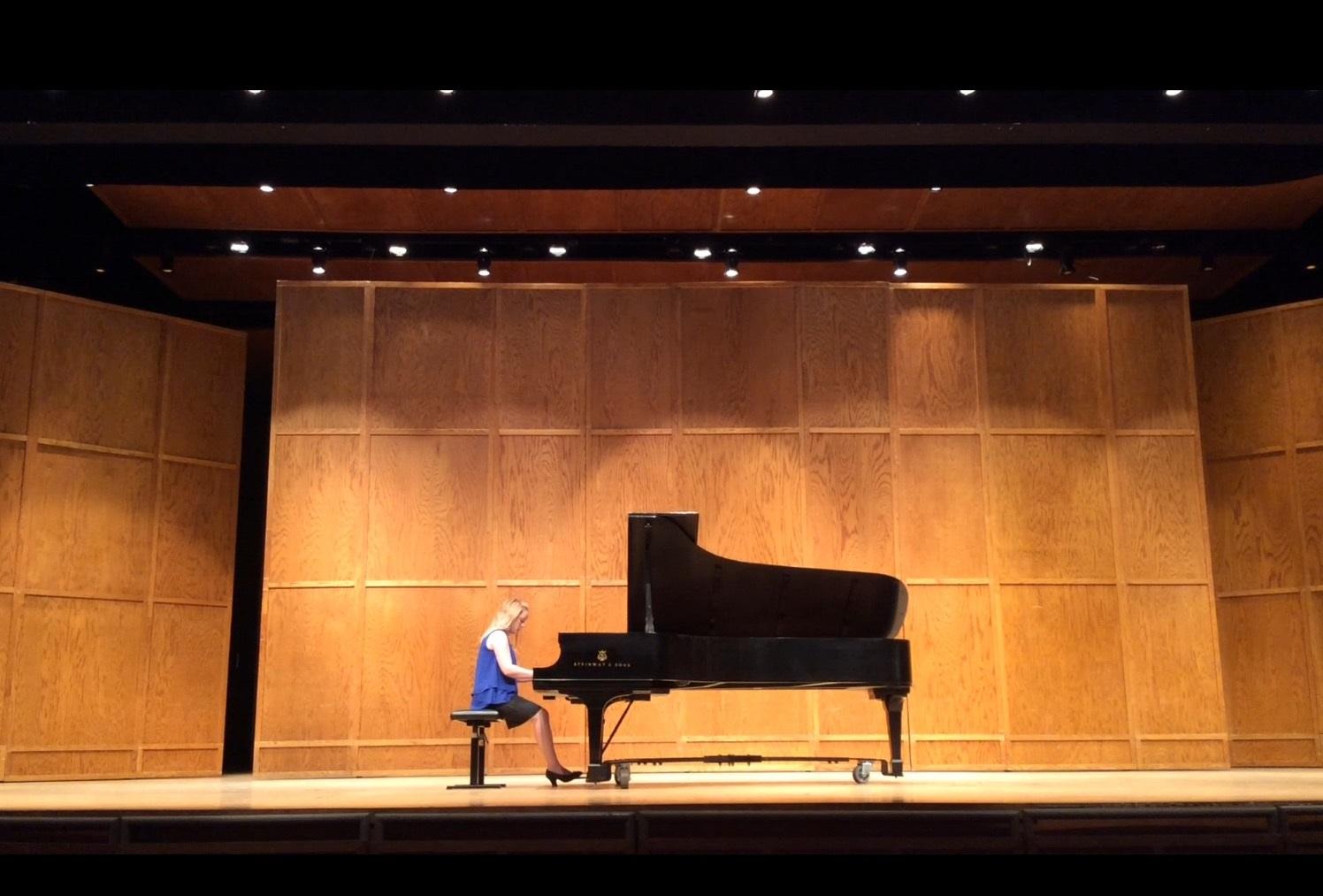 Performing at Joel Hastings Memorial Concert