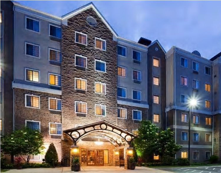 Our Headquarters Hotel is the beautiful Staybridge Suites