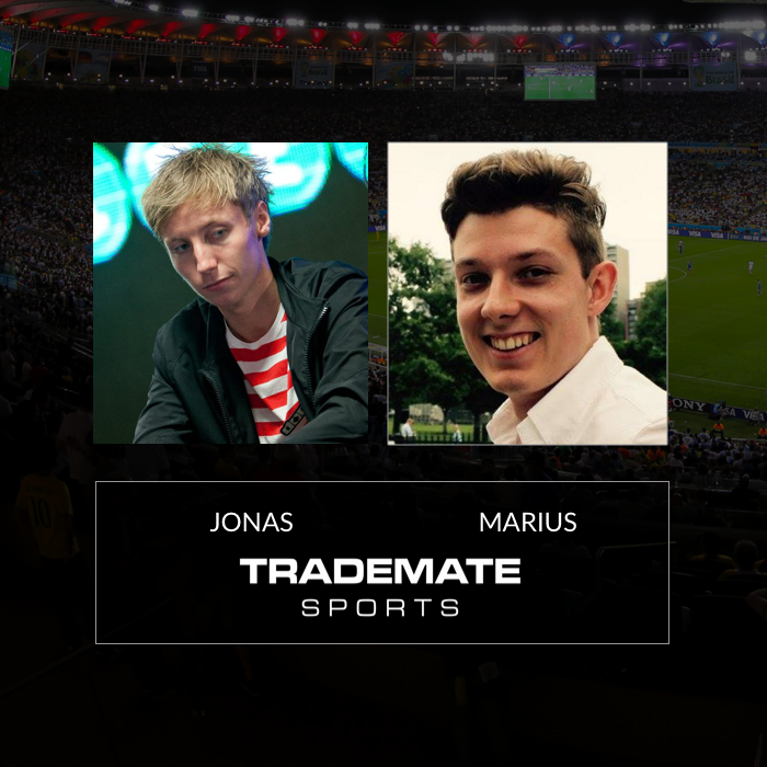 Jonas Gjelstad and Marius from Team Trademate