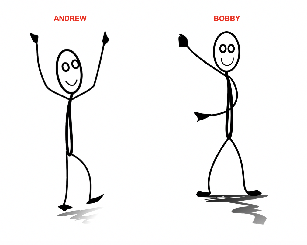Andrew and Bobby.