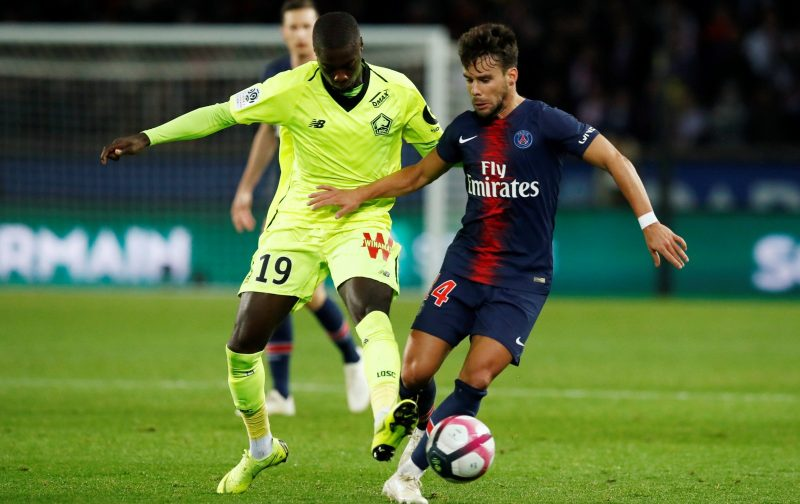 Arsenal signing Nicolas Pepe in action for Lille.