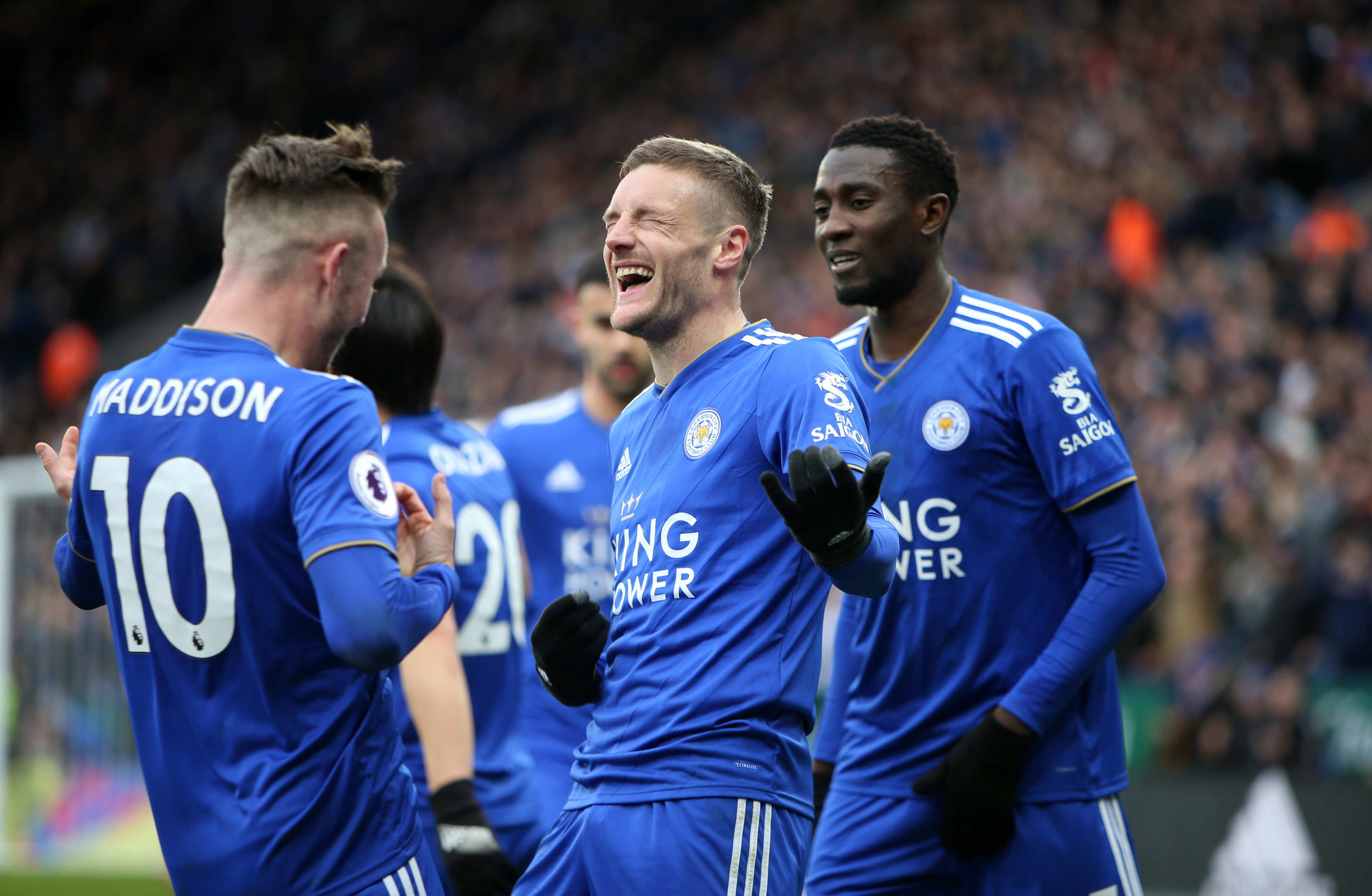 Jamie Vardy will be a key man for Leicester City if they are to challenge for the Top 6.