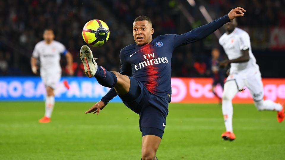 Kylian Mbappe scored 33 goals for PSG last season.