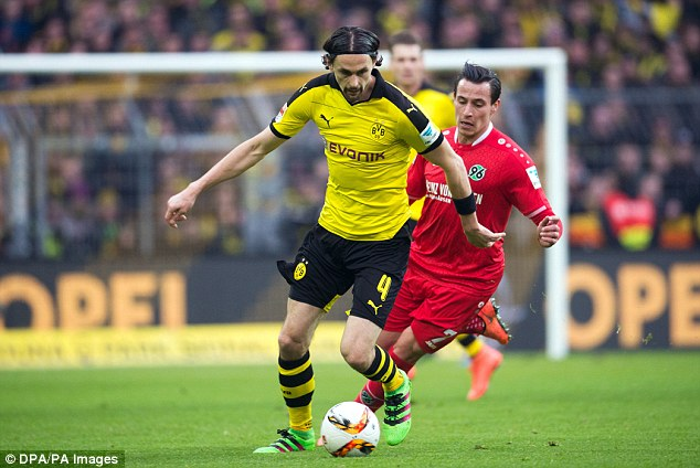 Former Borussia Dortmund defender Neven Subotic will be key to Union Berlin's success.