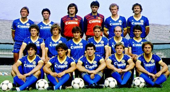 The Serie A winning Verona of 1984/85.