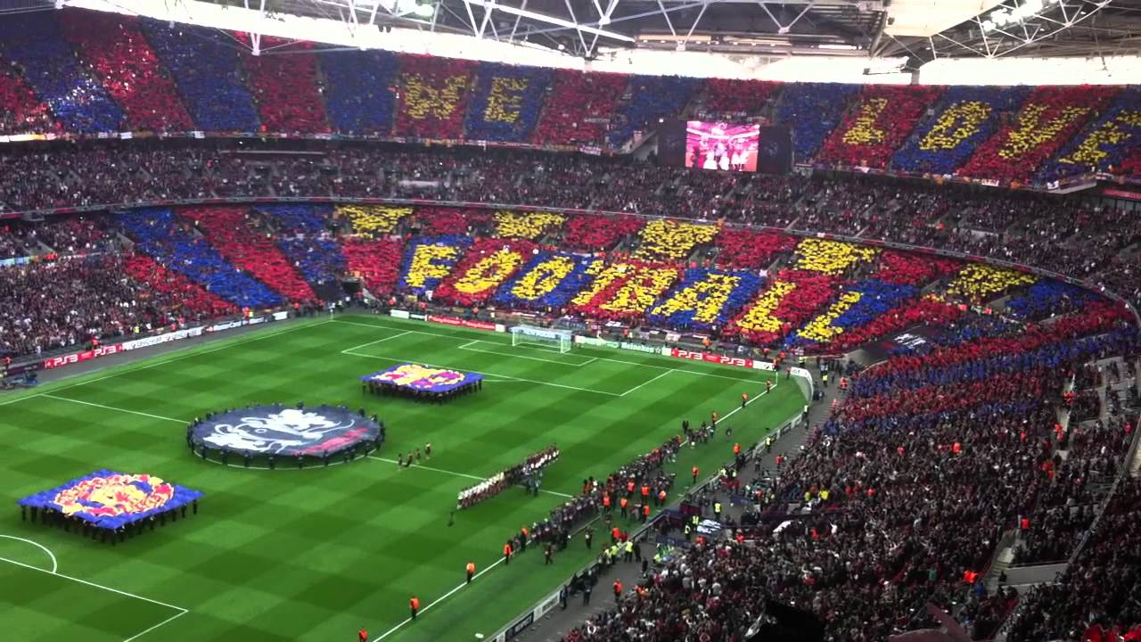 The 2011 Champions League Final at Wembley.