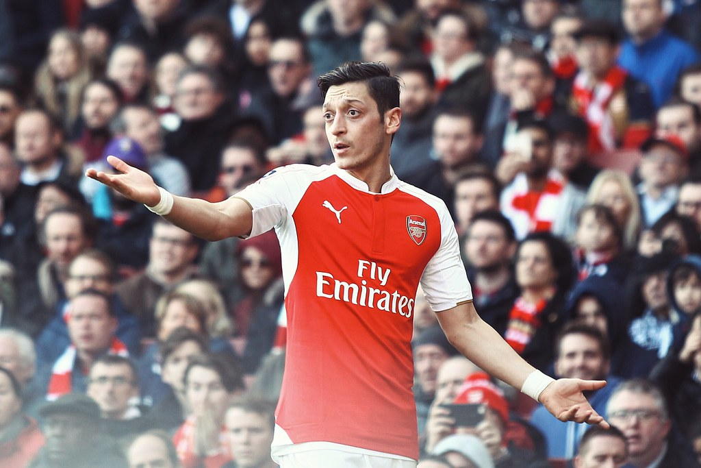 Mesut Ozil will most likely feature in the group stage after receiving less game time in the EPL.