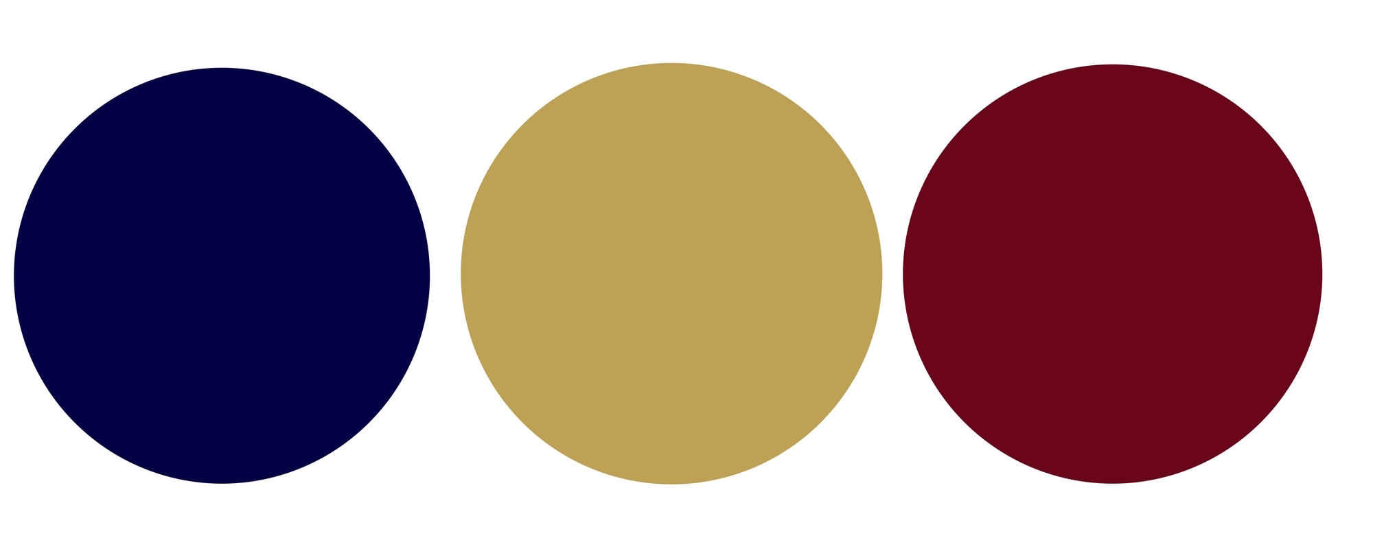 The color Palette incorporates both deep and light blues, gold and rich reds.