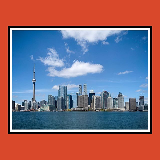 A ferry nice view of Toronto on a ferry nice day during a ferry nice ferry ride. | #ferry #toronto