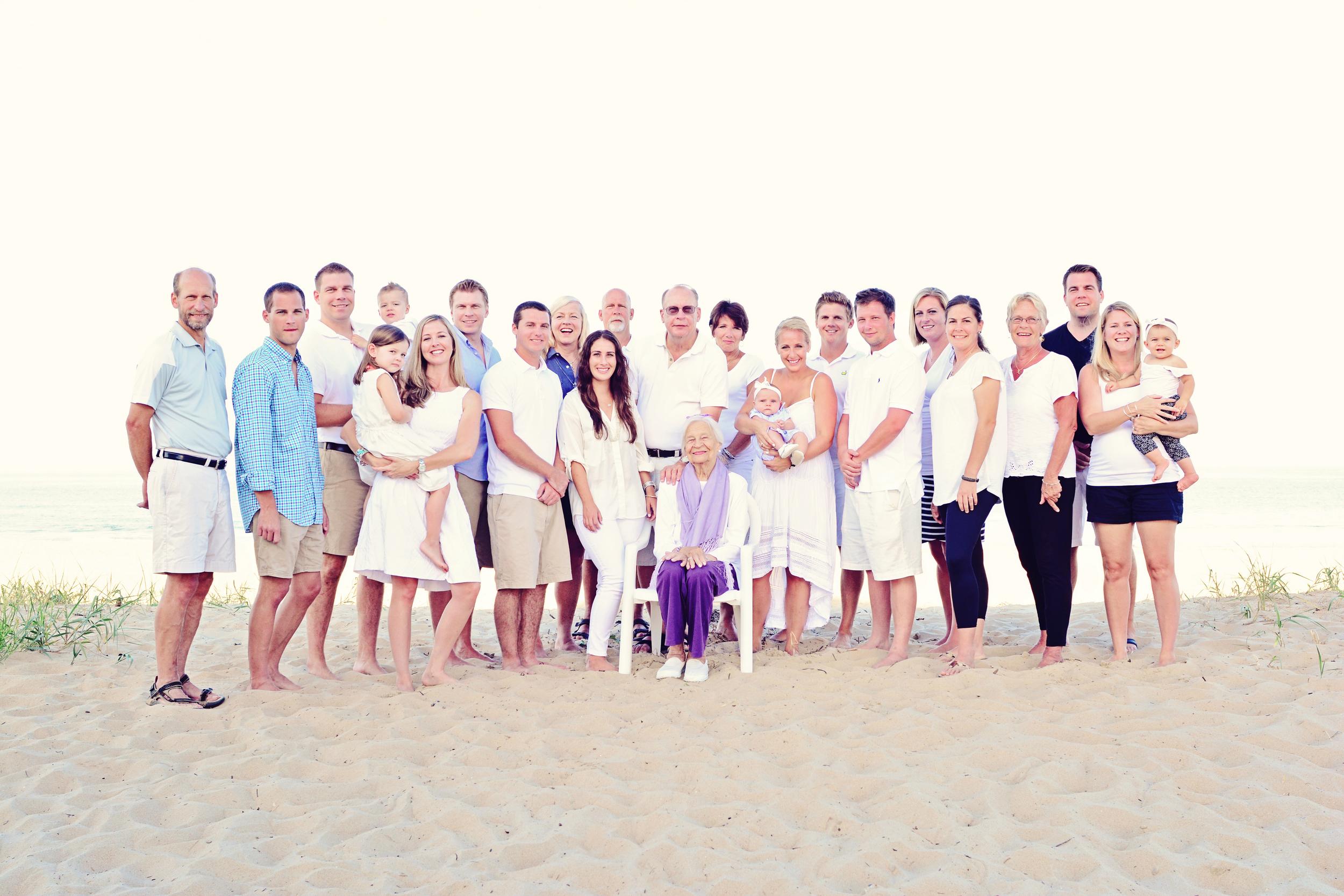 Sandbridge beach Virginia Beach Virginia family portrait Jan Casper Photography