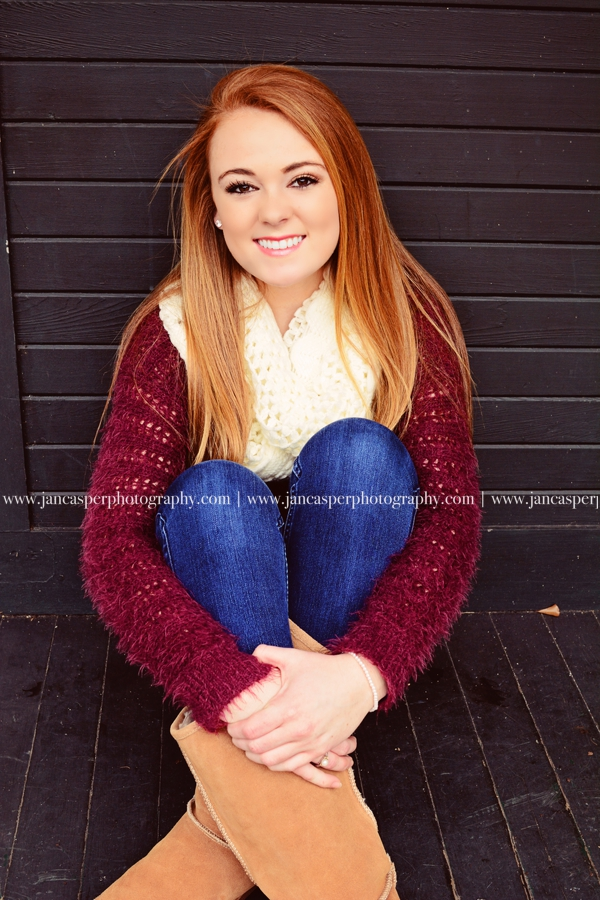 Freemason street downtown Norfolk Virginia senior portrait Jan Casper Photography
