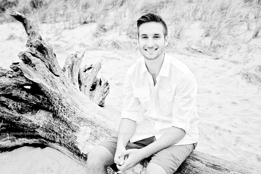 First Landing State Park senior portrait Virginia Beach Jan Casper Photography Virginia