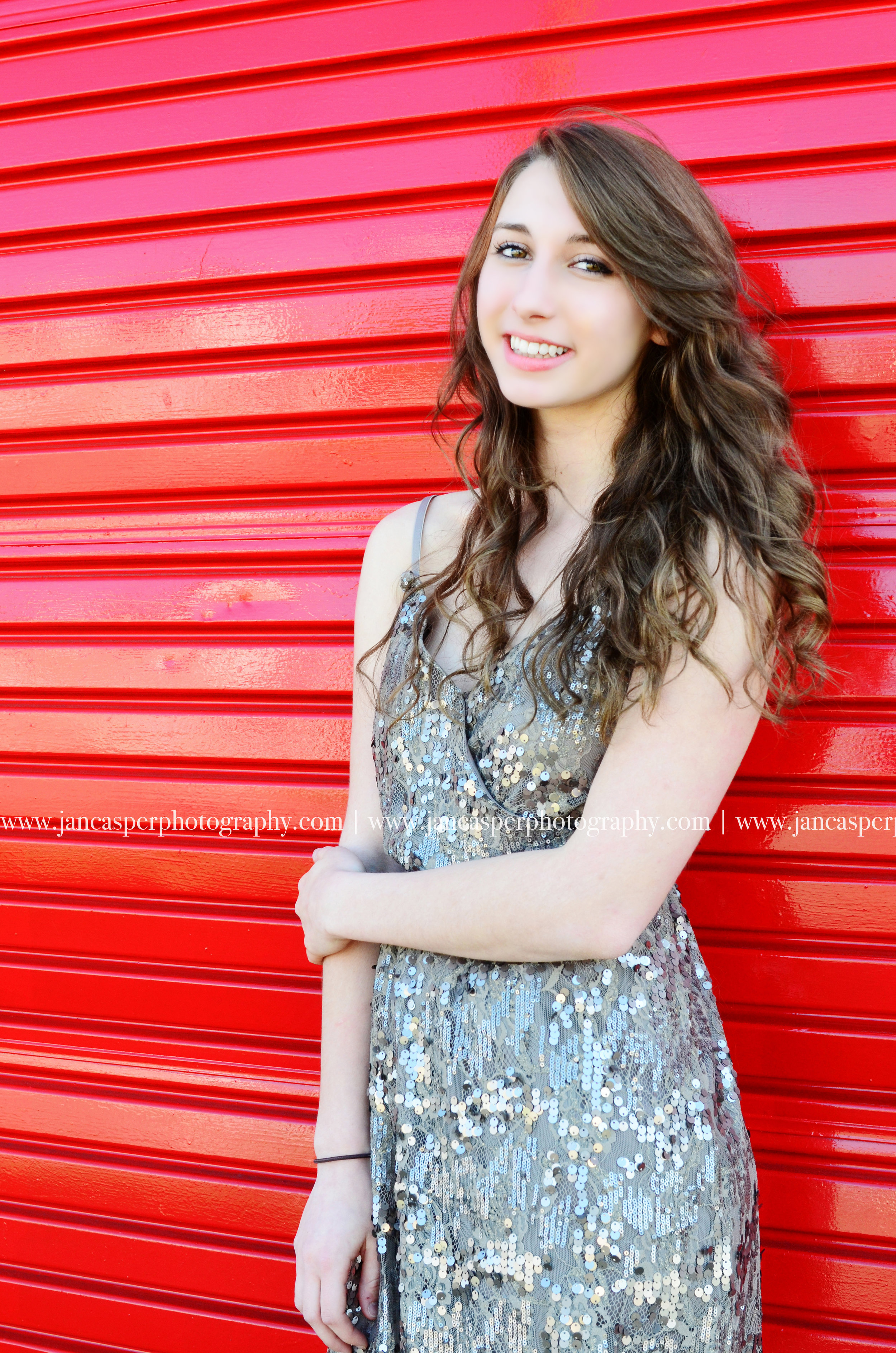 senior portrait Virginia Beach Jan Casper Photography prom dress Virginia
