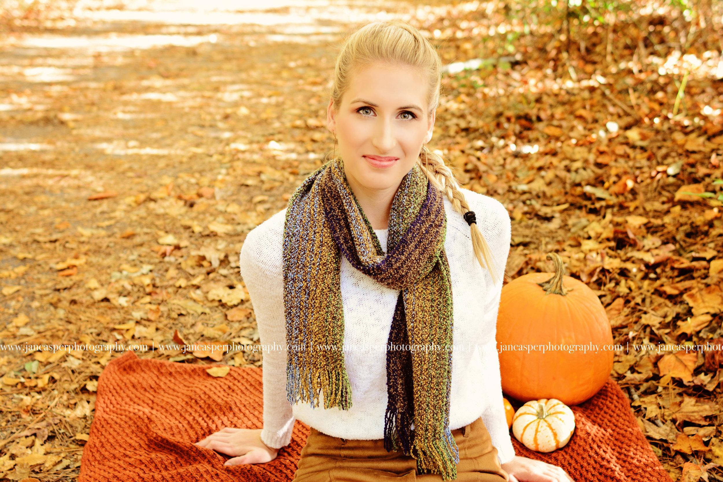 senior portrait Oak Grove Lake Park Virginia Jan Casper Photography Virginia Beach
