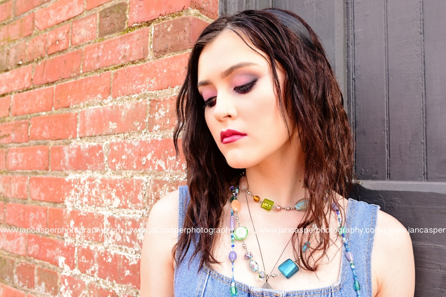 senior portrait downtown Norfolk Jan Casper Photography Virginia Freemason Norfolk