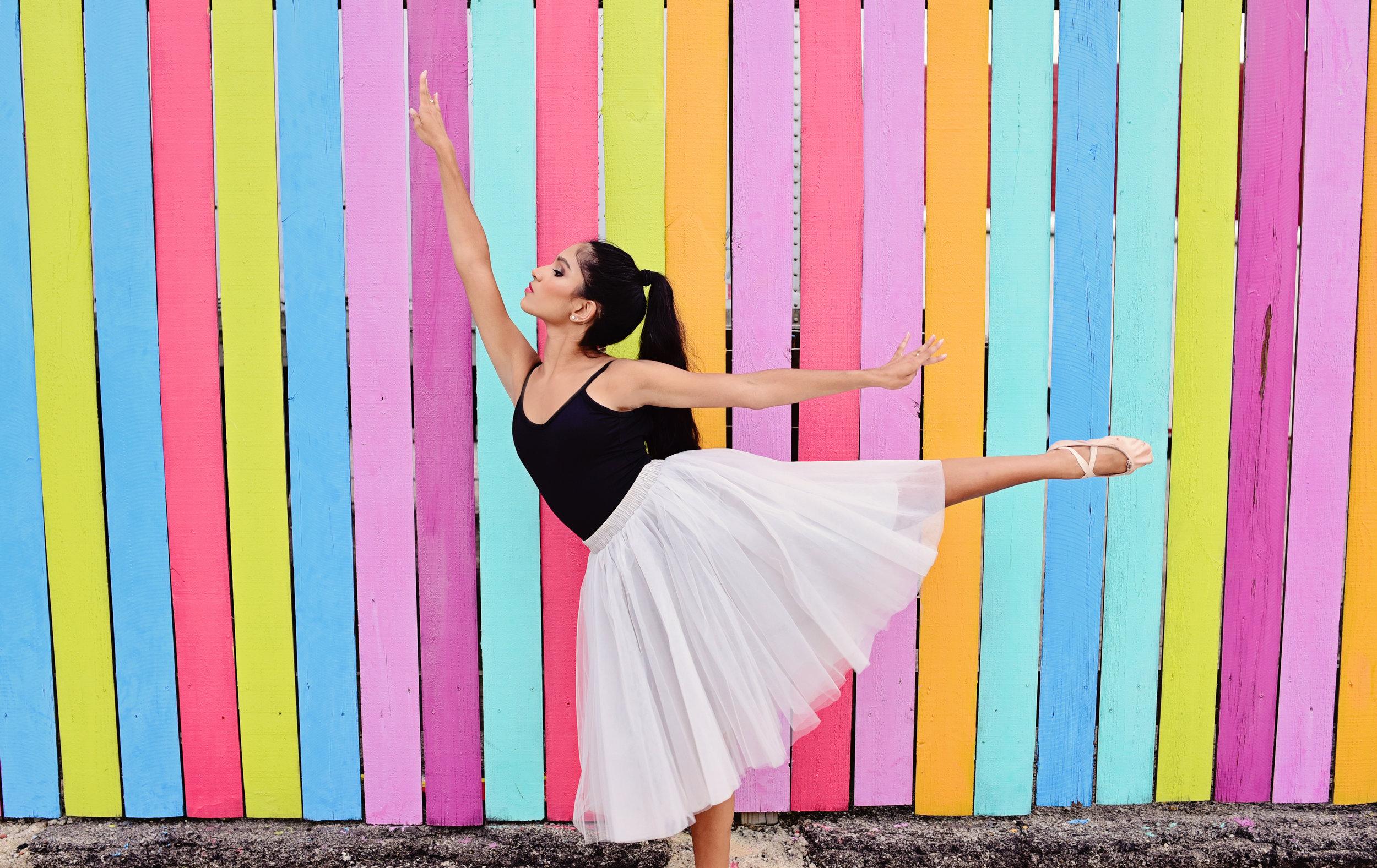 neon arts district Norfolk dance portrait Jan Casper Photography Virginia