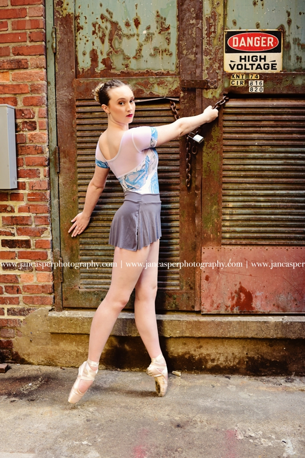 dance portraits Jan Casper Photography Downtown Norfolk Virginia