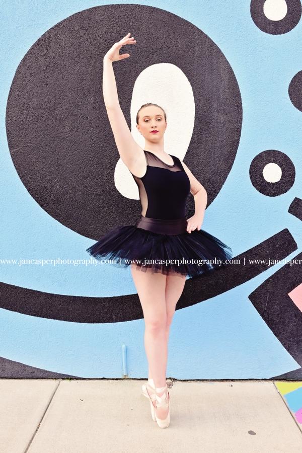 dance portraits Jan Casper Photography Downtown Norfolk Virginia Neon District