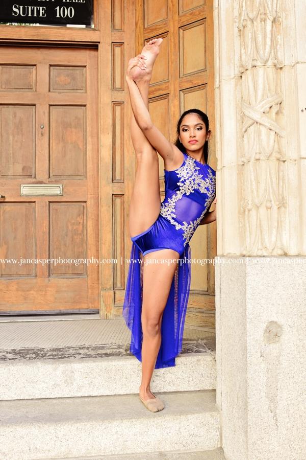 dance portrait downtown Norfolk Jan Casper Photography Virginia
