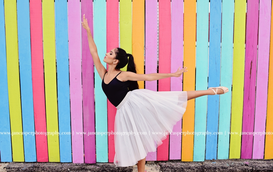 dance portrait Norfolk Neon District Jan Casper Photography Virginia