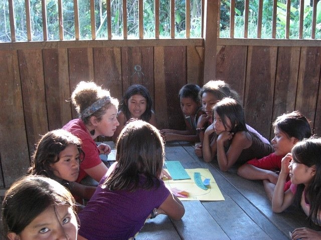 Providing workshops on sex education in the Pemón Indigenous Region of Venezuela