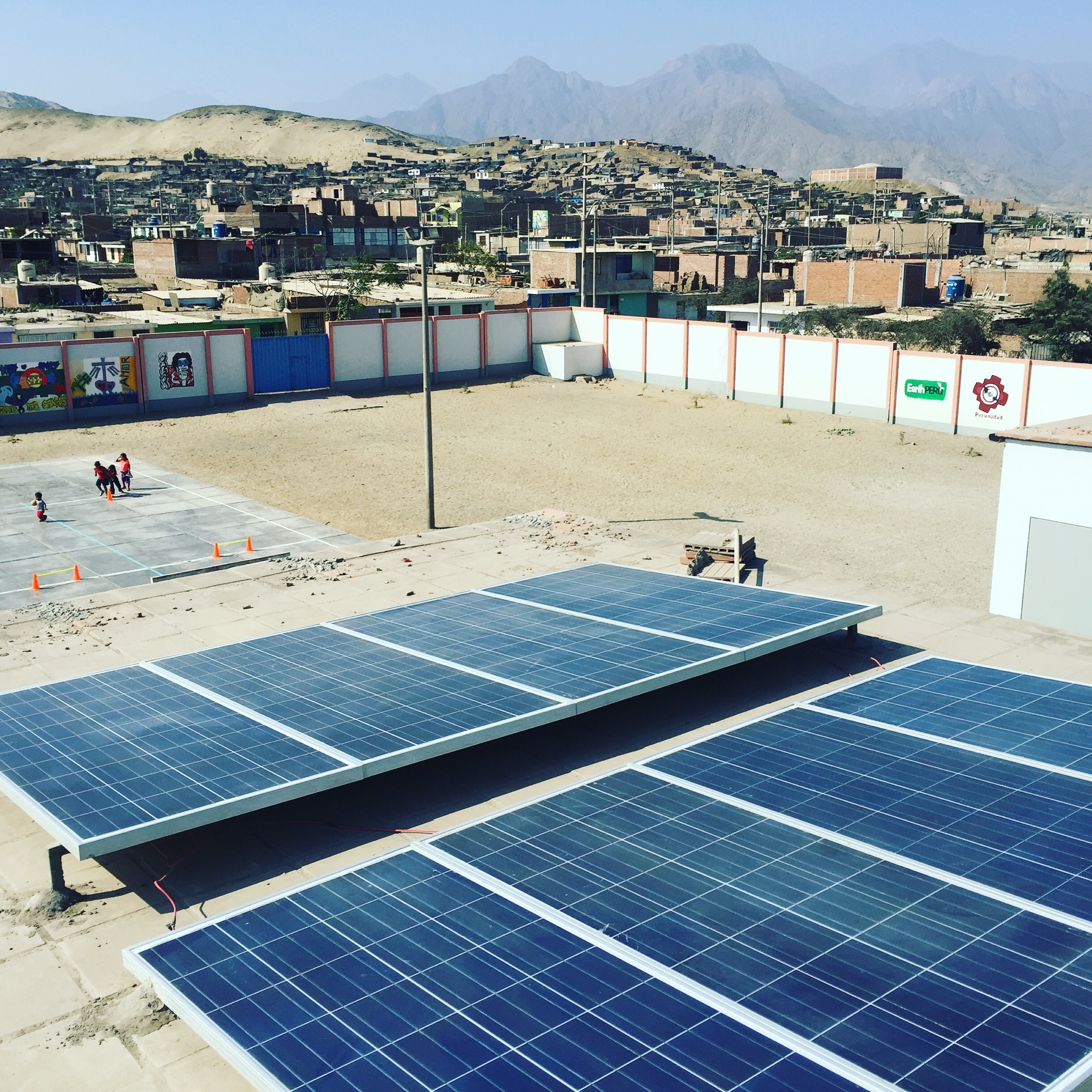 Earth Peru solar panel installations