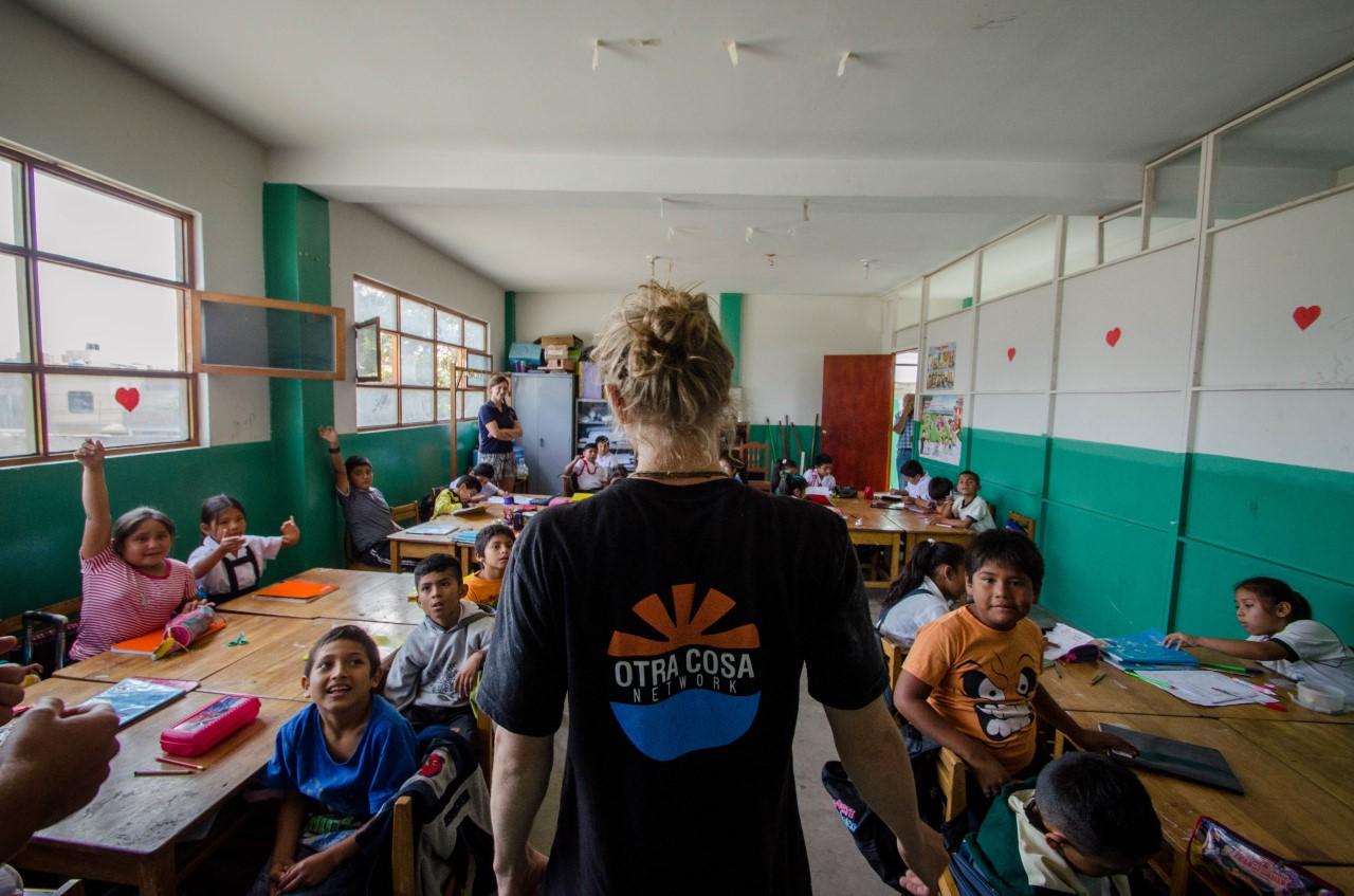 Volunteering with Otra Cosa
