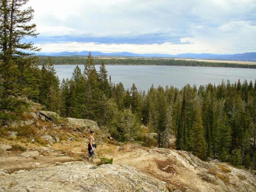 Jenna VanLooven hiking