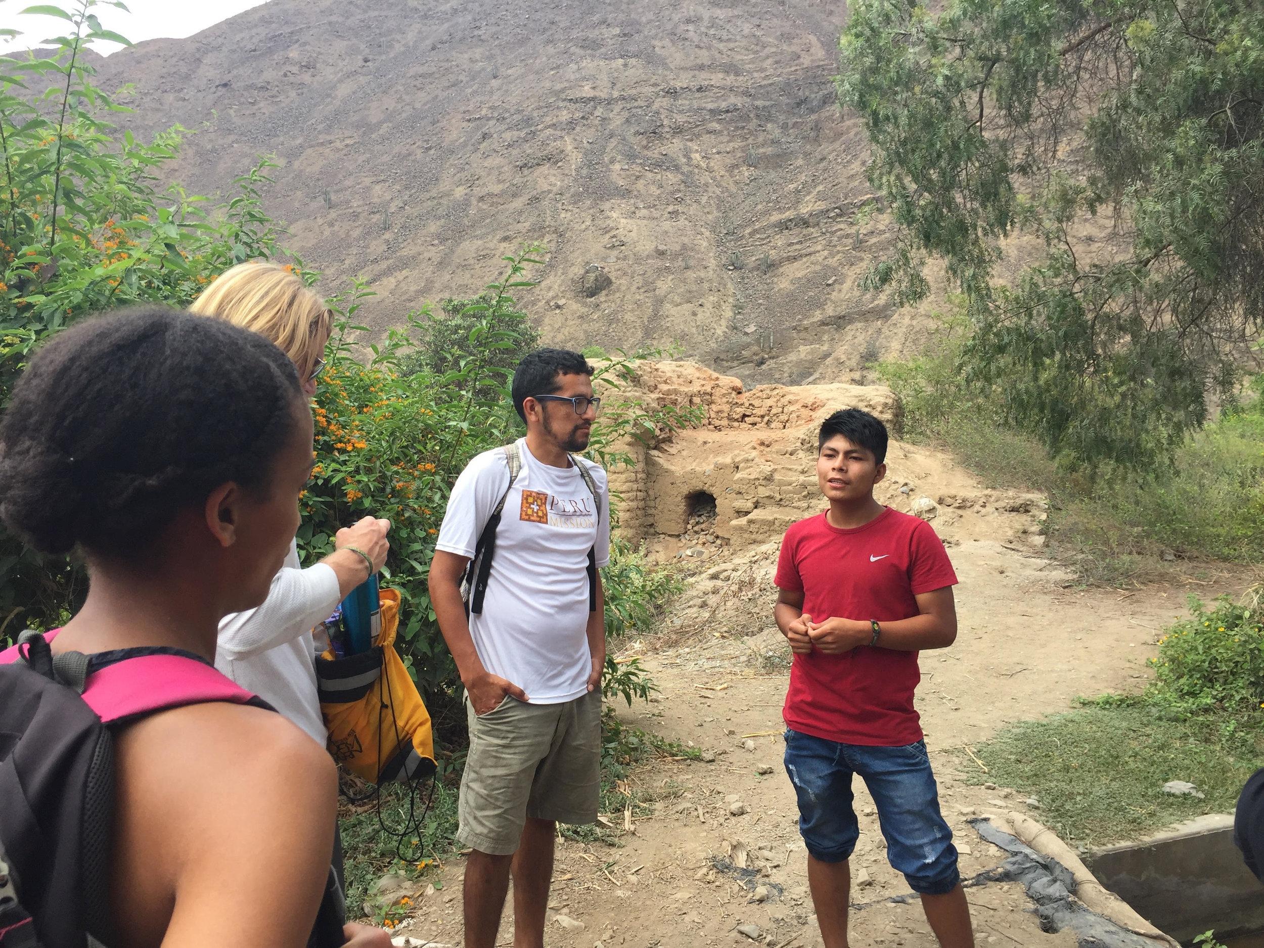 Touring Simbal, Peru