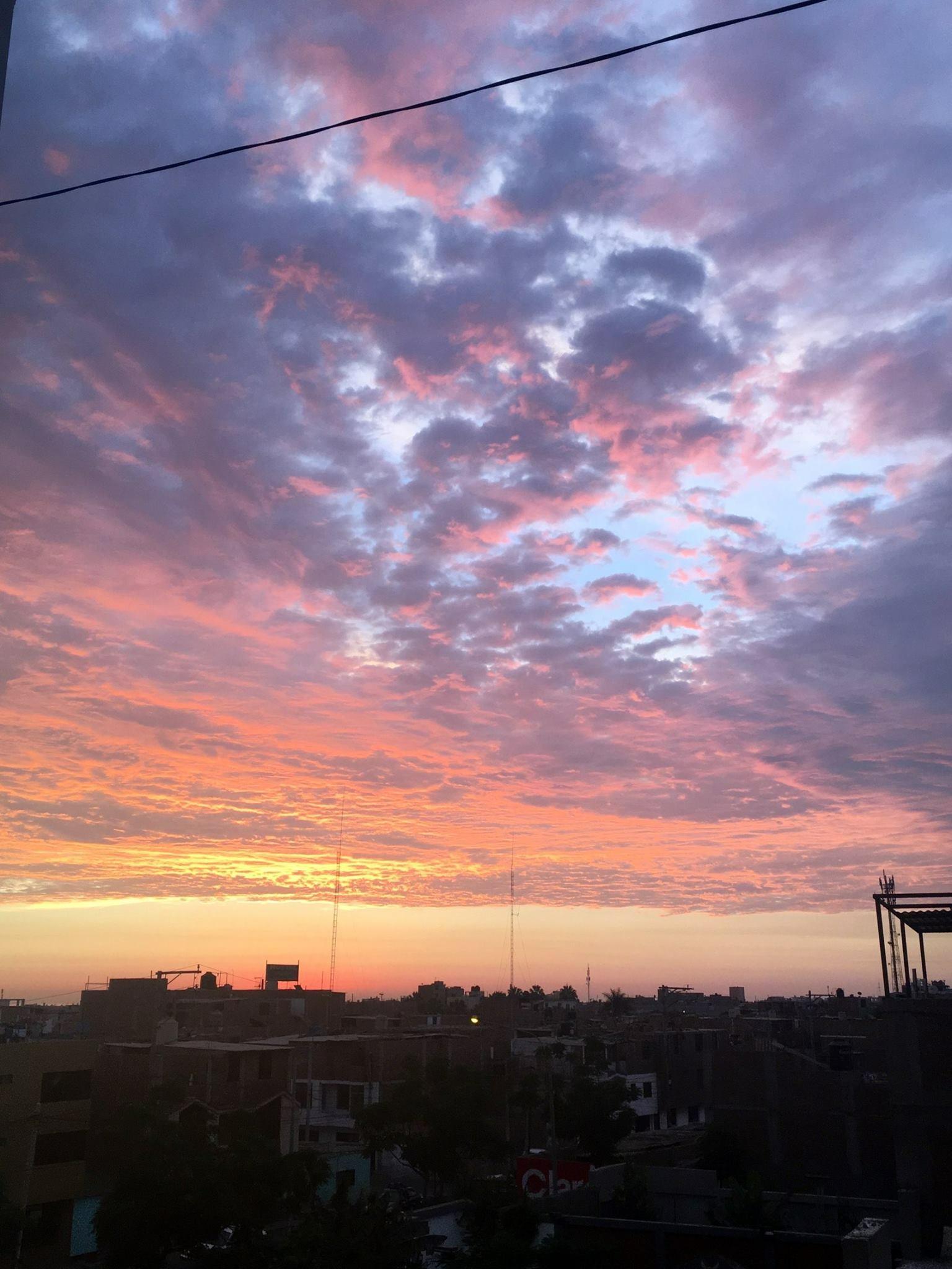Sunset in Trujillo, Peru