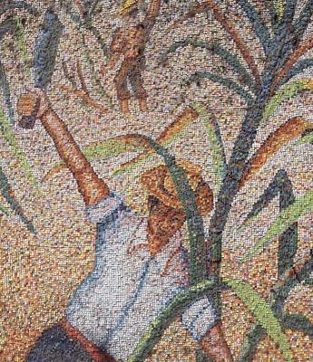 National University of Trujillo mosaic wall