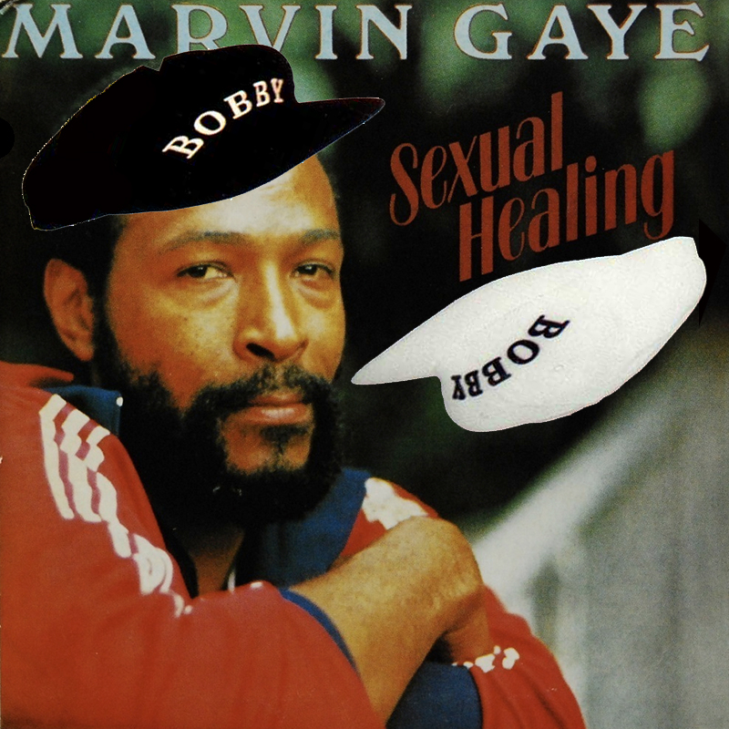 """A mashup of Bobby Brown's """"Two Can Play That Game"""" and Marvin Gaye's """"Sexual Healing""""  Listen & download here:"""