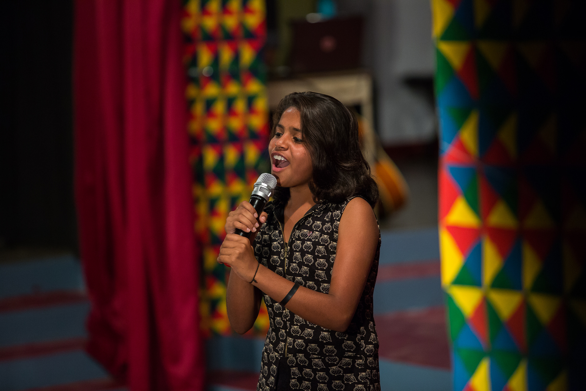 STF Scholar Keerthi at Shanti Bhavan in India. (photo by Kate Lord)