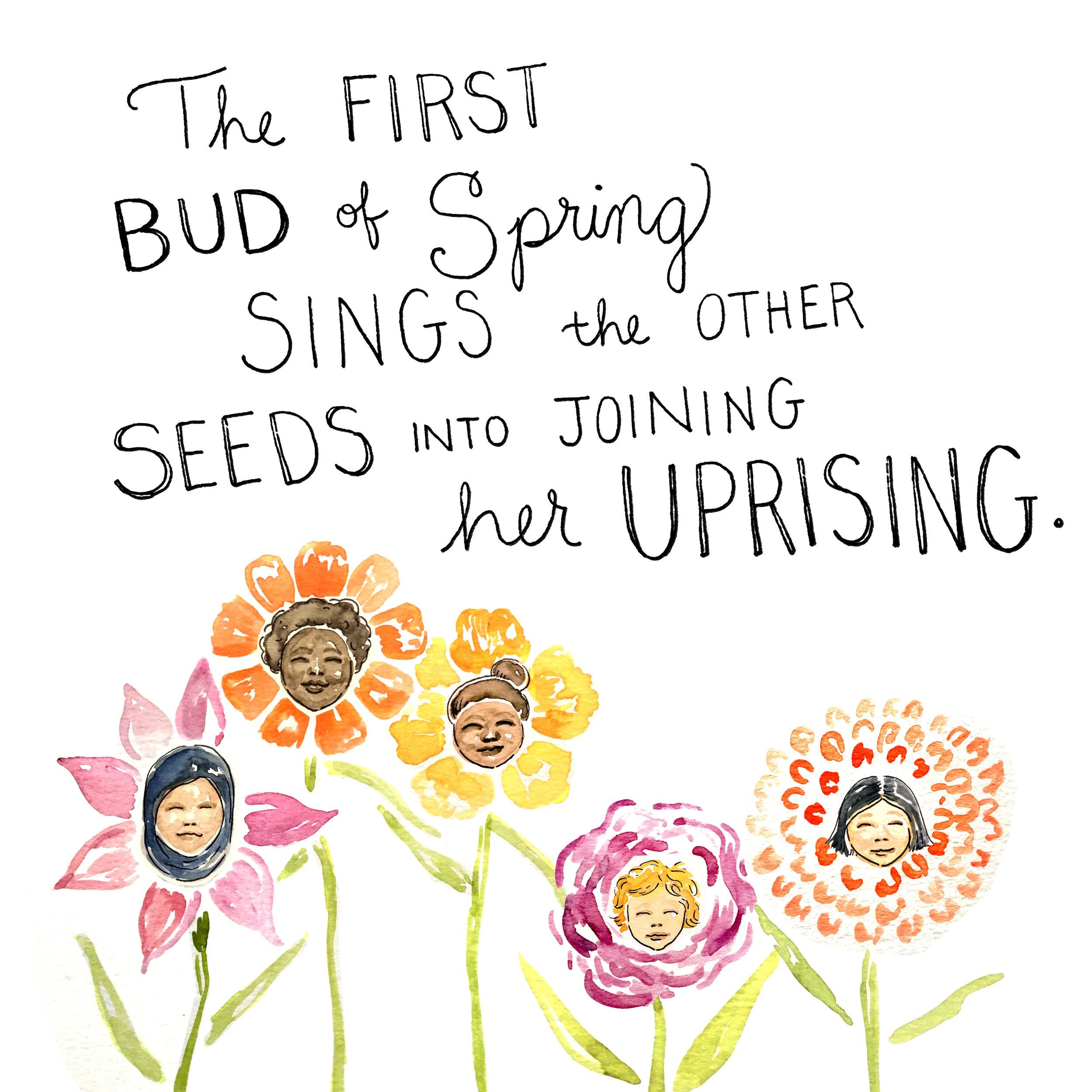 Illustrated by @KimothyJoy, words by @AmandaSCGorman