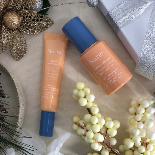 Holiday Beauty Bundle Gift Set - Buy one of Nuria's three holiday gift sets, and 100% of proceeds will support STF.