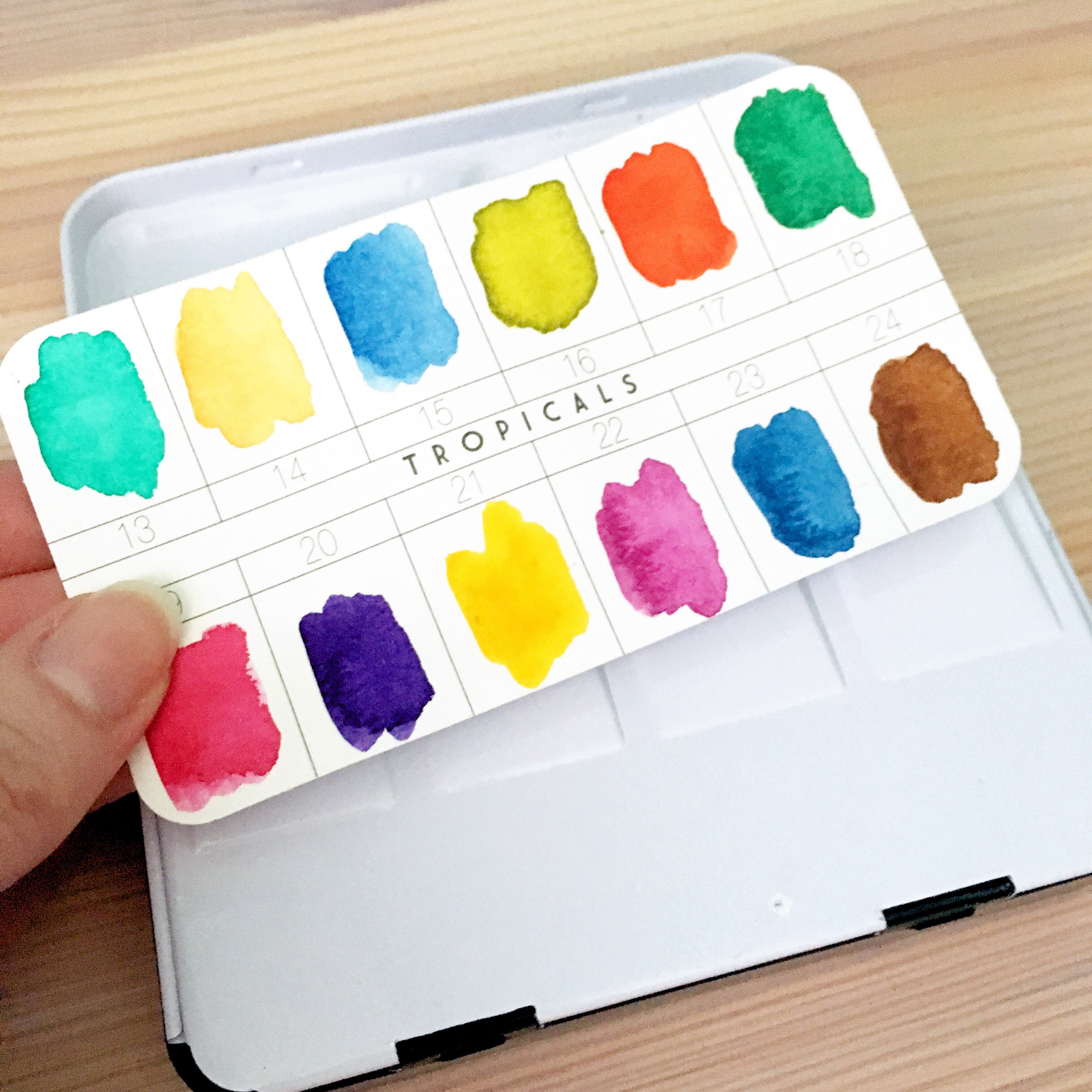 Dani Claire. Artsy Goodness. My New Favorite Watercolor Set. Prima Watercolor Confections. Watercolor Art. Watercolor Paint. Hand lettering. Hand letterer.