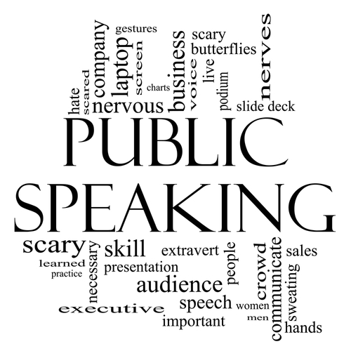 Public Speaking   Often overlooked in schools, this is an important skill that will be practiced.