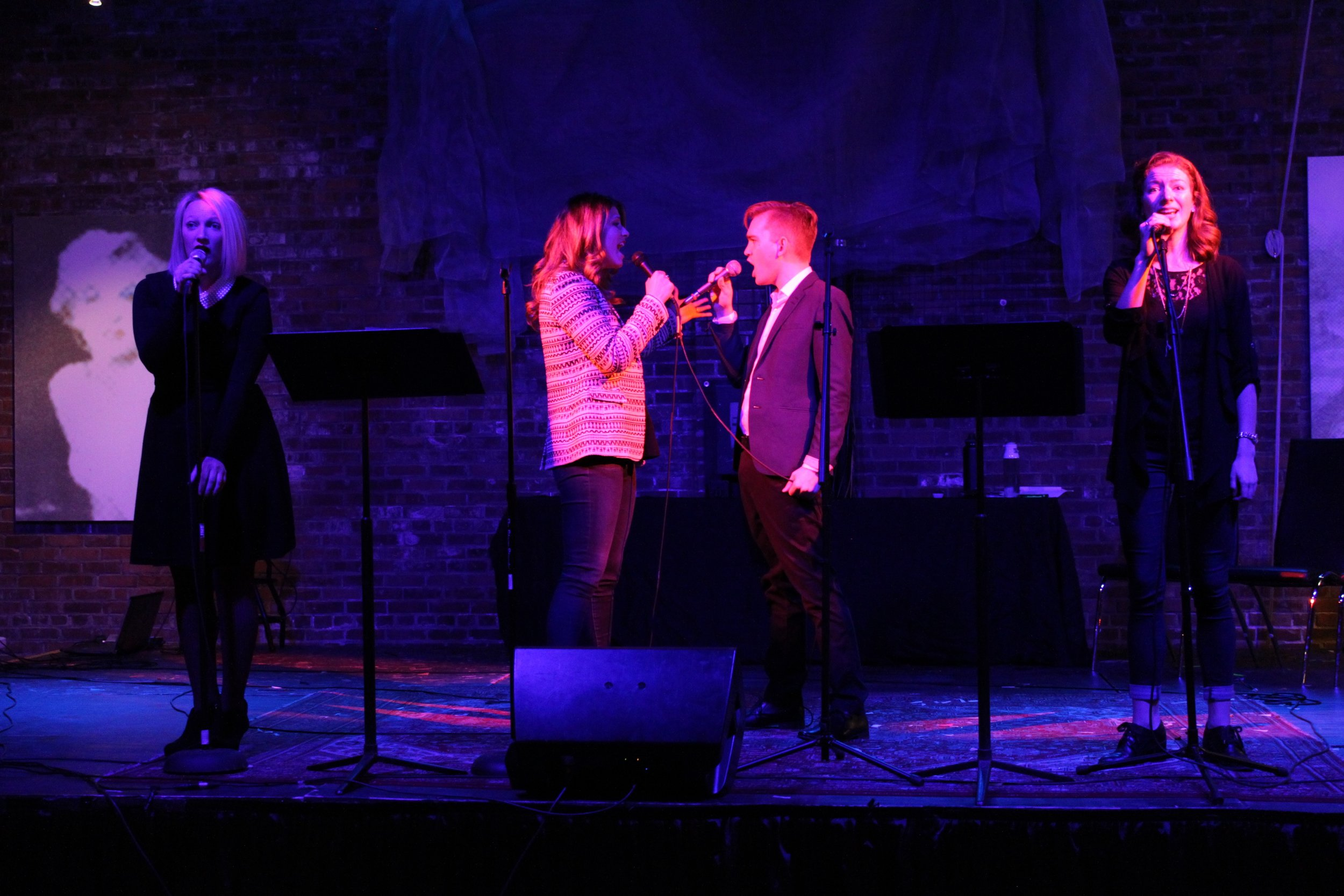 """Sydney Place-Sallstrom and Bob Wendland sing about their loathing for each other with """"What is this Feeling"""", from the musical Wicked."""