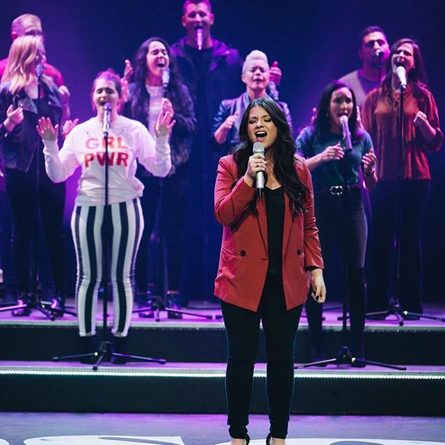 Such a special night! Thank you @dawnchere for bringing such a powerful word. See everyone tomorrow morning - doors open at 8:30!