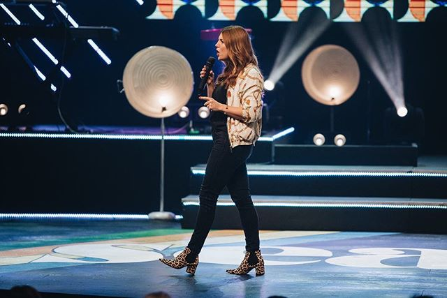 Who else LOVED hearing from the powerhouse @mrslizturner this morning?! We can't wait to hear her again tomorrow at all 3 services at @copperpointe!
