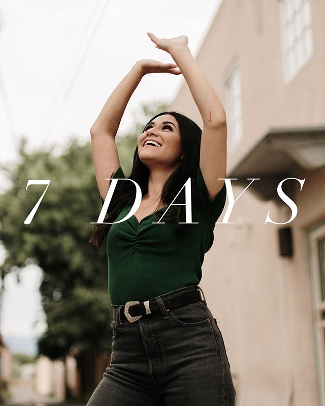 ✨LADIES!✨ We are one week away from conference!! Make sure you're making plans to join us. Tickets are only $39 for the ENTIRE weekend! (we love a good deal) Get your tickets today!  Link in bio✨