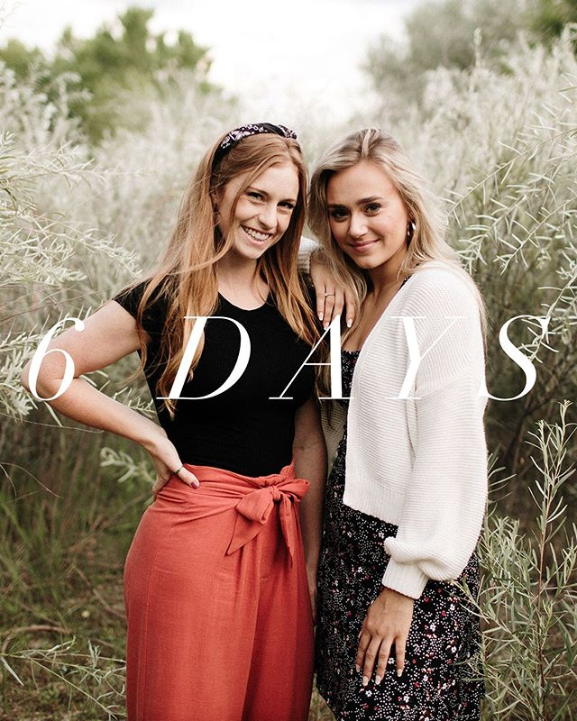 """The countdown is on! Only SIX MORE DAYS🤩 start getting your girl-gang ready for an incredible weekend! - October 24th-26th - Text """"FLOURISH19"""" to 797979 to buy tickets!!! It won't be the same without YOU!✨"""
