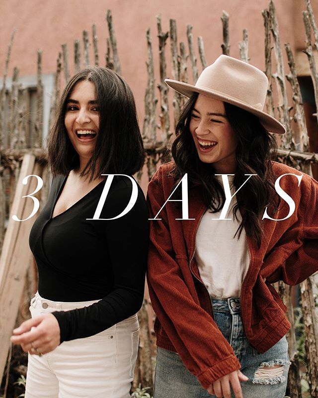 """3🎉MORE🎉DAYS🎉  We can't express how EXCITED we are for our favorite time of year!! You can still get your tickets by texting """"FLOURISH19"""" to 797979 or visiting the link in our bio!"""