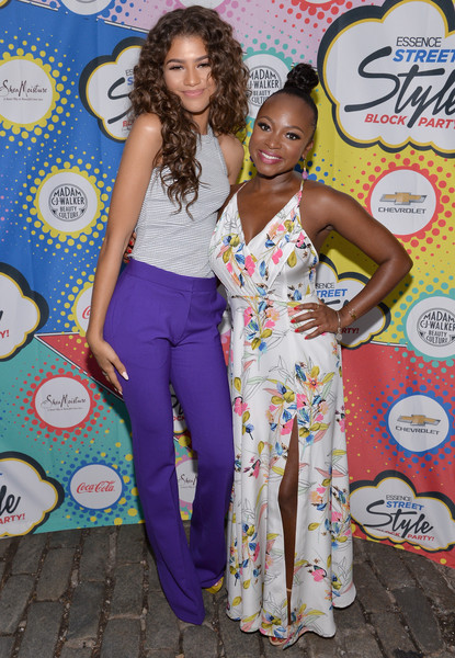 Singer Zendaya (L) and actress Naturi Naughton.jpg