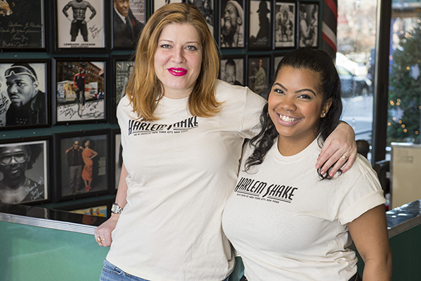 L-R: Jelena Pasic, Founder and   Dardra   Coaxum, Partner, of Harlem Shake courtesy of Eric Levin