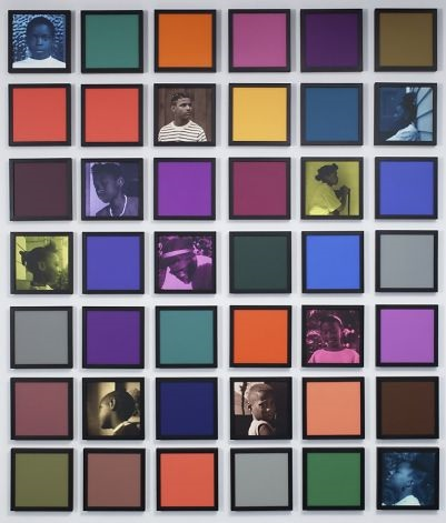 """Untitled (Colored People Grid)"" (2009-10)"