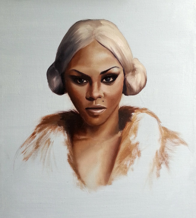 "Portraiture Illustration ""Lil Kim"""