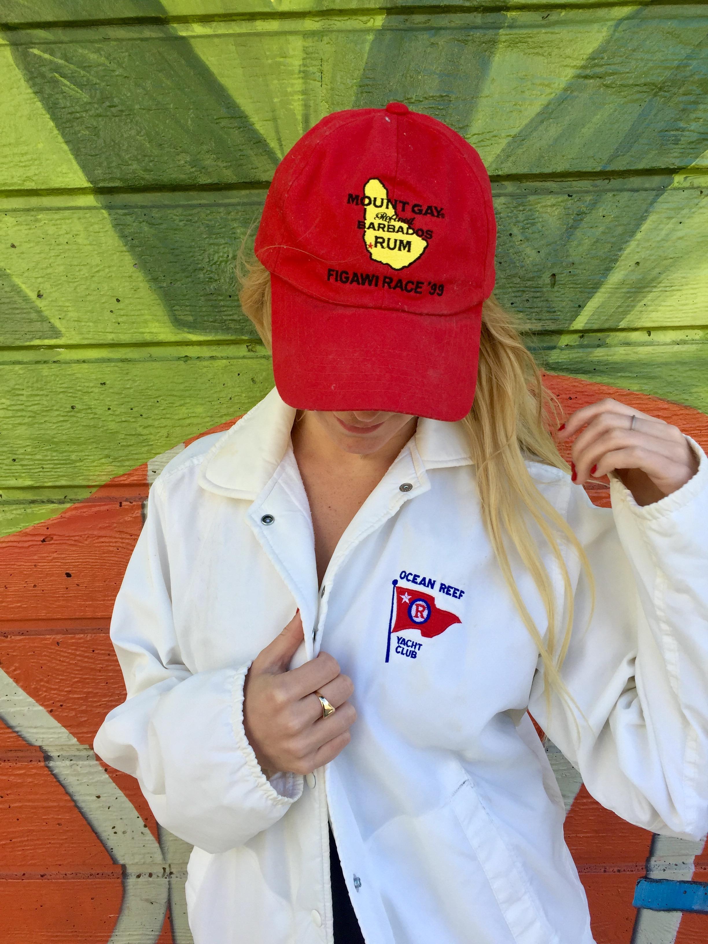 Hat and Jacket: Vintage