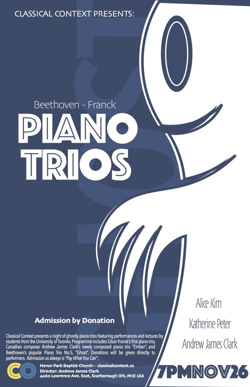 Ghosty Piano Trios - November 2016